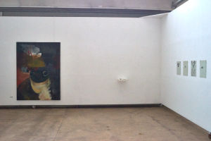 Installation view Lebenslügen